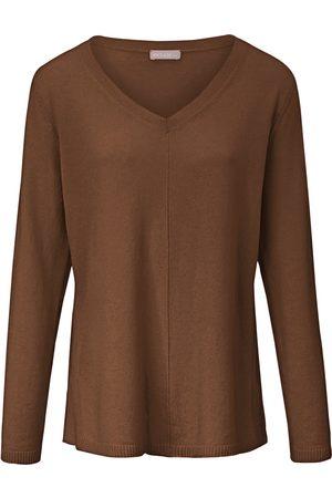 include V-neck jumper in pure cashmere size: 10