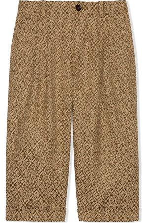 Gucci Diamond GG jacquard trousers - Neutrals
