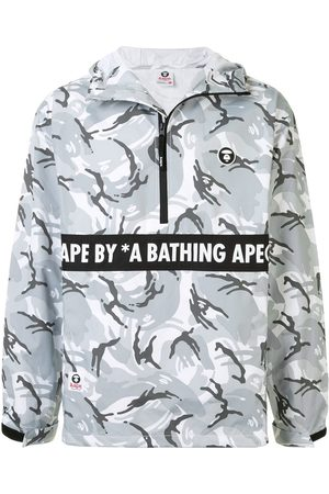 AAPE BY *A BATHING APE® Graphic print windbreaker