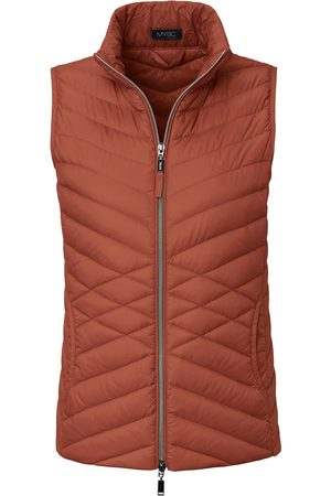 Mybc Quilted gilet stand-­up collar size: 10