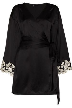 La Perla Women Bathrobes - Maison Frastaglio lace-embroidered robe