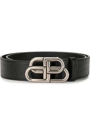 Balenciaga Men Belts - BB logo-plaque belt - 1000