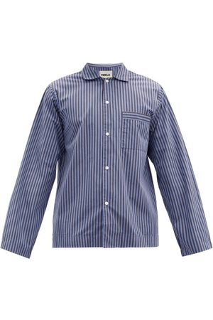 Tekla Striped Organic Cotton-poplin Pyjama Top - Mens