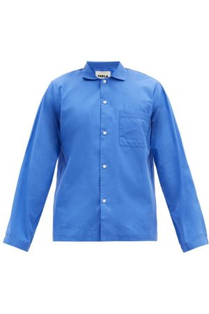 Tekla Patch-pocket Organic-cotton Pyjama Shirt - Mens