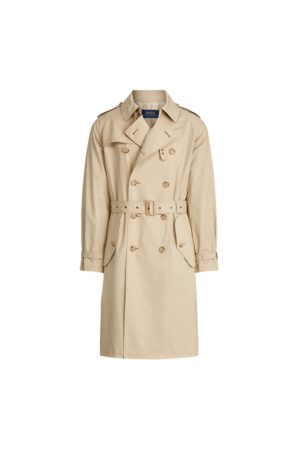 Polo Ralph Lauren Stretch Cotton Trench Coat