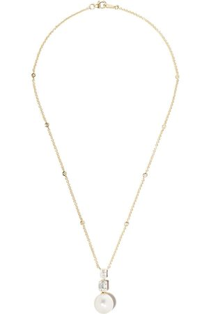 Yoko London 18kt yellow gold Starlight South Sea pearl and diamond necklace - 6