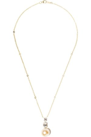 Yoko London 18kt yellow gold Starlight Golden South Sea pearl and diamond necklace - 6