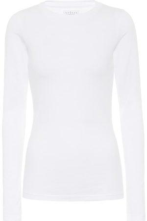Velvet Zofina stretch-cotton jersey top