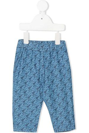 Kenzo Tiger print trousers