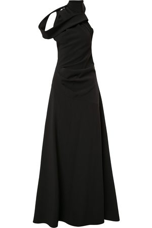 MATICEVSKI High-neck asymmetric gown