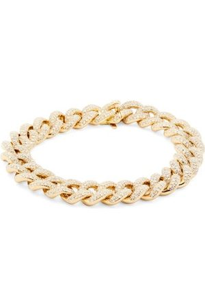 Shay Essential Diamond & 18kt Gold Bracelet - Womens - Crystal