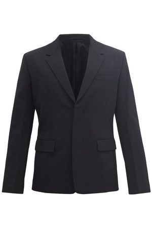 Prada Concealed-button Twill Jacket - Mens