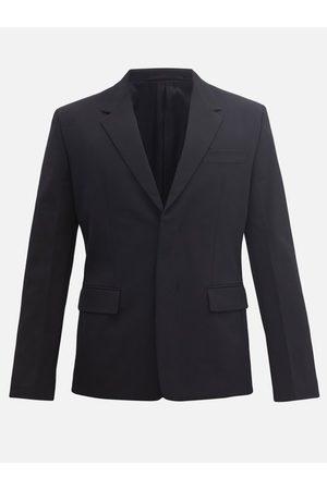 Prada Men Coats - Concealed-button Twill Jacket - Mens