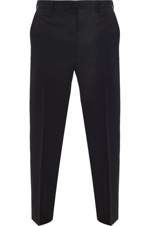 Prada Straight-leg Wool-blend Trousers - Mens