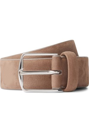 Loro Piana 3cm Nubuck Belt