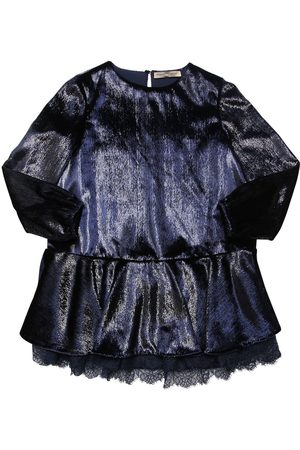 ERMANNO SCERVINO Chenille & Lurex Party Dress