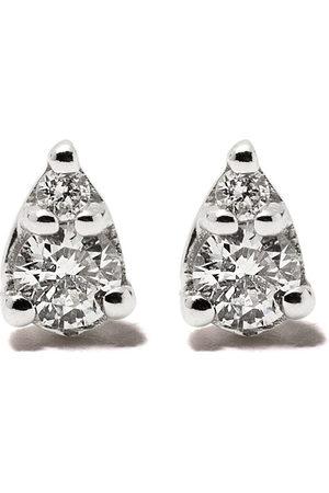 Dana Rebecca Designs 14kt diamond teardrop stud earrings