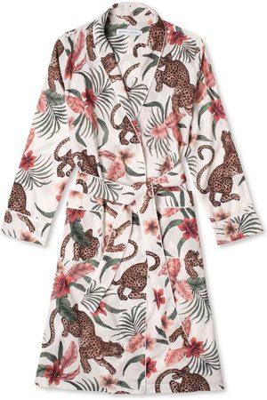 Desmond & Dempsey Soleia Leopard Quilted Robe