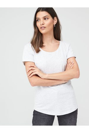 Very The Basic Scoop Neck Tee