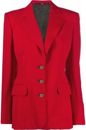 Gianfranco Ferré 1990s buttoned slim-fit jacket