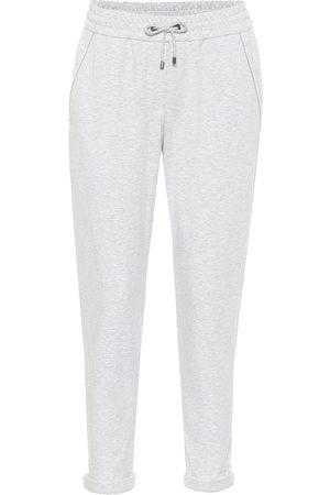 Brunello Cucinelli Stretch-cotton sweatpants