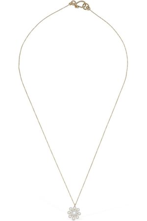 SOPHIE BILLE BRAHE Margherita Short Necklace W/ Pearl Charm