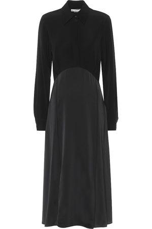 Victoria Victoria Beckham Satin-crêpe midi dress
