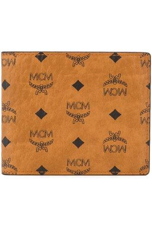 MCM Men Purses & Wallets - Logo-print bifold wallet