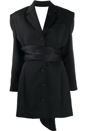 MAGDA BUTRYM Open-back blazer dress