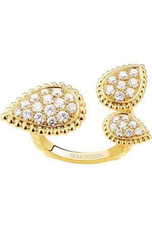 Boucheron Yellow Diamond Triple Serpent Bohème Ring