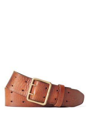 RRL Men Belts - Tumbled Leather Belt