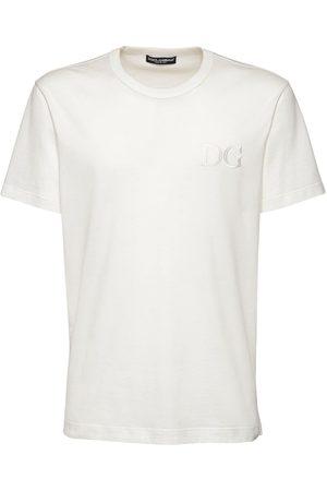 Dolce & Gabbana Dg Embroidery Cotton T-shirt