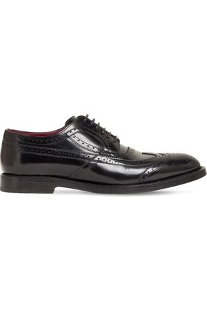 Dolce & Gabbana 30mm Leather Lace-up Derby Shoes