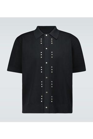 Bottega Veneta Technical piqué knitted shirt