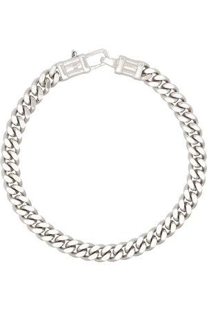 TOM WOOD Men Bracelets - L curb chain bracelet - 925 STERLING