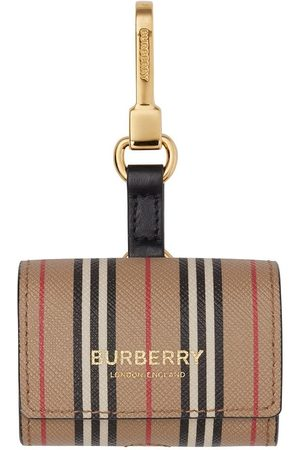 Burberry Icon stripe AirPod Pro case - Neutrals