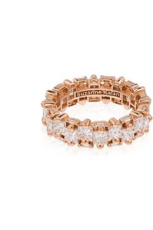 Suzanne Kalan 18kt rose diamond eternity ring