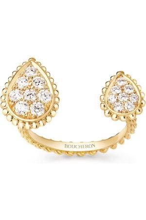 Boucheron Yellow Diamond Serpent Bohème Ring