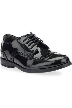 Start Rite Girls Patent Leather Brogue Pri