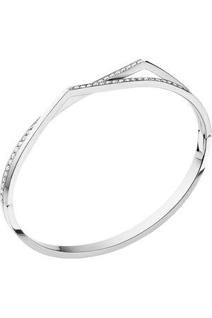 adidas 18kt white gold Antifer diamond bangle