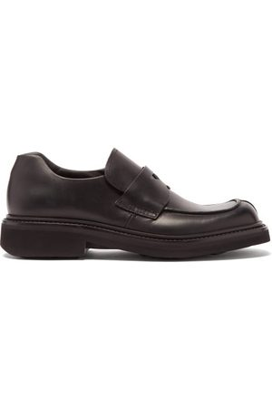 Prada Men Loafers - Chunky-sole Leather Loafers - Mens