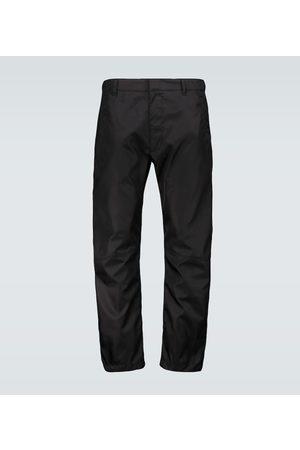Prada Technical nylon pants