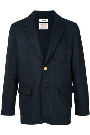 Coohem Single breasted patch-pocket blazer