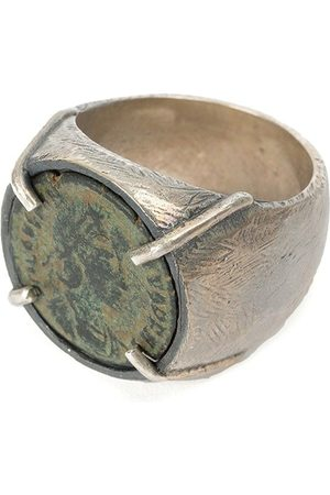 TOBIAS WISTISEN Chevalière ring - Metallic