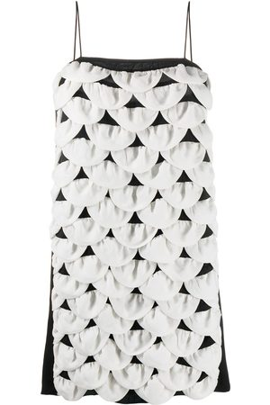 Chanel Pre-Owned 2009 scalloped mini dress