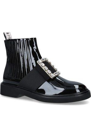 Roger Vivier Crystal-Embellished Chelsea Viv' Rangers Boots