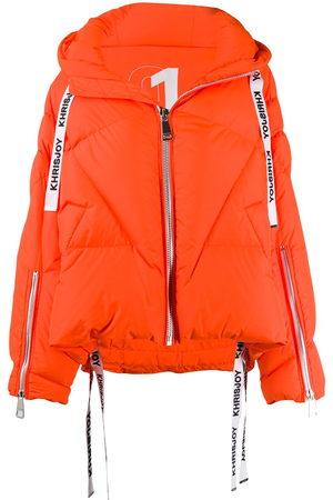Khrisjoy Women Jackets - Hooded padded jacket