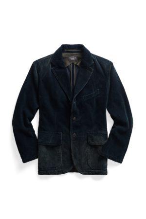 RRL Men Jackets - Indigo Corduroy Jacket