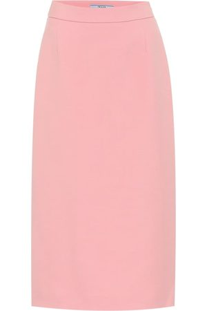 Prada Virgin wool pencil skirt