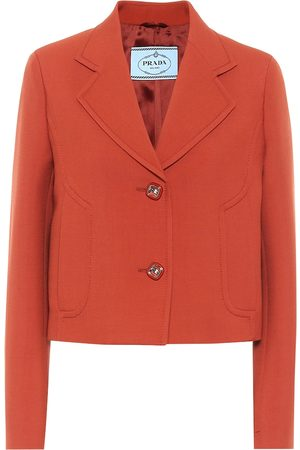 Prada Cropped virgin wool jacket